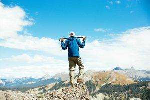 mountain climbbing