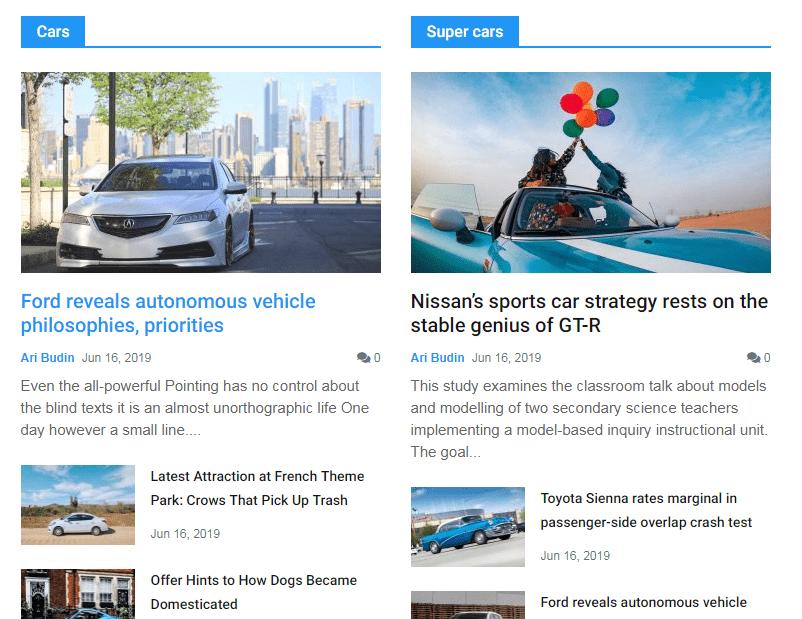 news block style 18