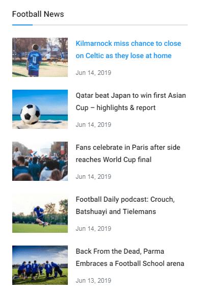 news sidebar block 1