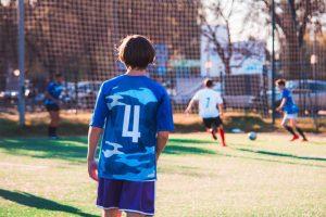 training soccer